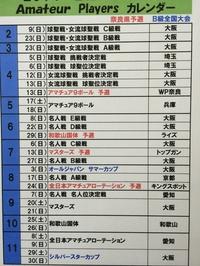 2014年Amateur Players カレンダー